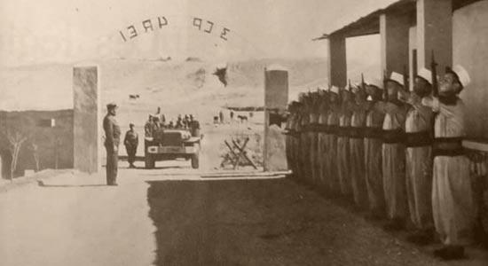 3rd Motorized Company - 3e Compagnie portée - 3e CP - of 4e REI based in Bir el Ater 1957