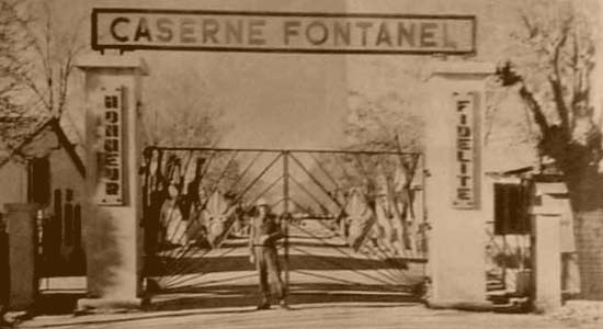 Caserne Fontanel - 2nd Battalion of 4e REI in Fes 1956