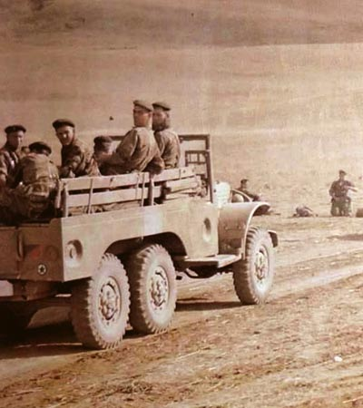 Dodge 6x6 of 4e REI in the Souk Ahras region of Algeria 1960