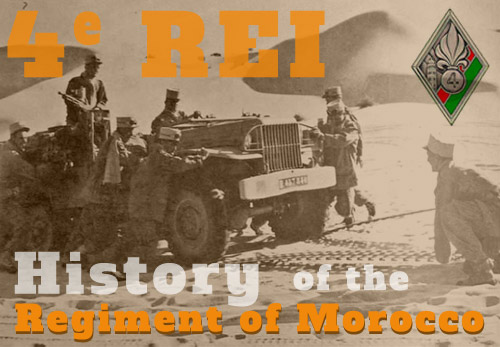4th Foreign Infantry Regiment - History - 4e REI