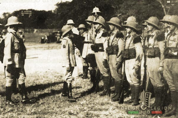 5e REI - 5 REI - 5th Foreign Infantry Regiment - 5th REI - Foreign Legion Etrangere - 1930s - General Rollet - French Indochina
