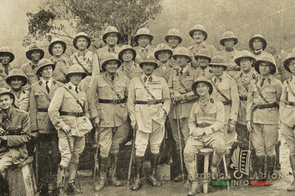 5e REI - 5 REI - 5th Foreign Infantry Regiment - 5th REI - Foreign Legion Etrangere - 1930s - Edgar Puaud - Tien Yen - French Indochina