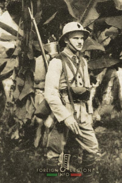 5e REI - 5 REI - 5th Foreign Infantry Regiment - 5th REI - Foreign Legion Etrangere - 1940 - Legionnaire - French Indochina