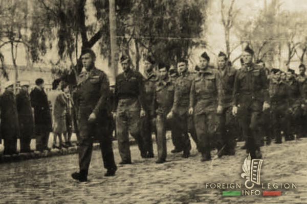 5e REI - 5 REI - 5th Foreign Infantry Regiment - 5th REI - Foreign Legion Etrangere - BM 5 - Repatriated legionnaires - Sidi Bel Abbes - 1947