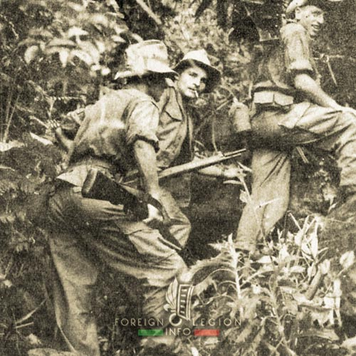 5e REI - 5 REI - 5th Foreign Infantry Regiment - 5th REI - Foreign Legion Etrangere - 1953 - French Indochina