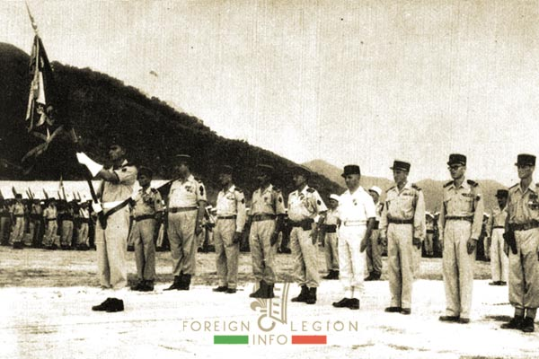 5e REI - 5 REI - 5th Foreign Infantry Regiment - 5th REI - Foreign Legion Etrangere - 1955 - Phu Loc - French Indochina