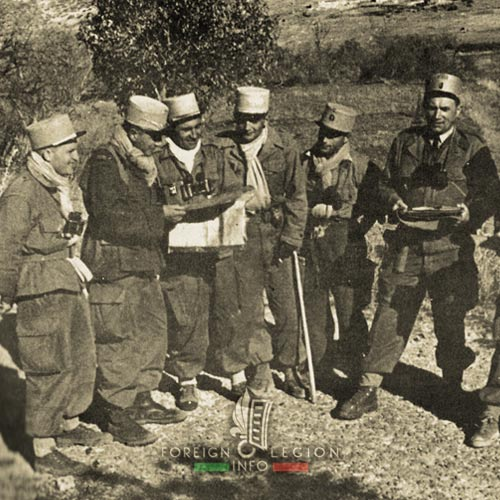 5e REI - 5 REI - 5th Foreign Infantry Regiment - 5th REI - Foreign Legion Etrangere - 1956 - Chenel - Algeria
