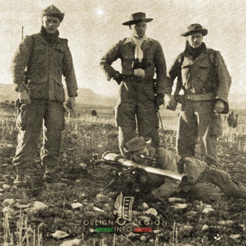 5e REI - 5 REI - 5th Foreign Infantry Regiment - 5th REI - Foreign Legion Etrangere - 1957 - Algeria