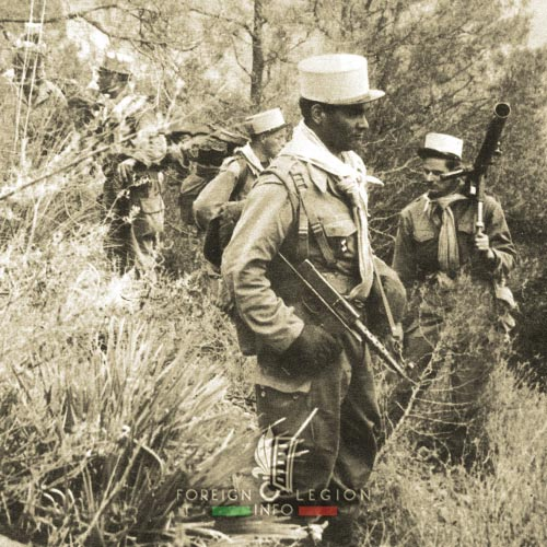 5e REI - 5 REI - 5th Foreign Infantry Regiment - 5th REI - Foreign Legion Etrangere - 1958 - Algeria