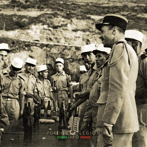 5e REI - 5 REI - 5th Foreign Infantry Regiment - 5th REI - Foreign Legion Etrangere - 1963 - Nougues - Algeria