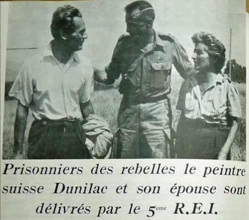 5e REI liberated Pierre du Bois de Dunilac