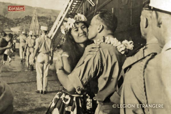 5e RMP - 5 RMP - 5th Pacific Mixed Regiment - 5th RMP- Foreign Legion Etrangere - 1963 - Papeete - Tahiti - French Polynesia