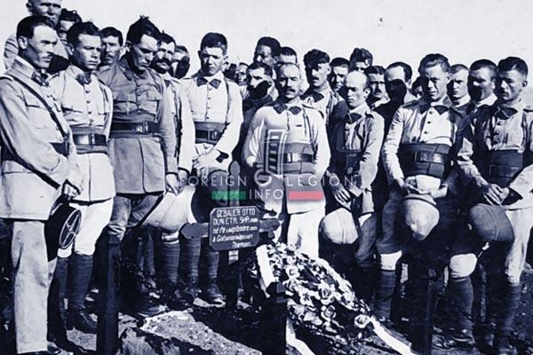 1er REI - 1 REI - Legion Etrangere - 1929 - Homs - Syrie - Levant - Tombe