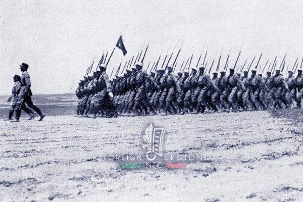 GLE - Foreign Legion - 1938 - Legionnaires - Levant