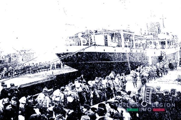 4e RE - 4 RE - Legion Etrangere - 1921 - Oran - Algerie