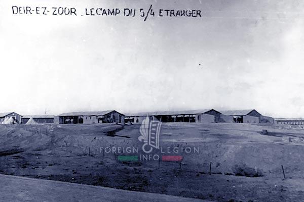 4e REI - 4 REI - Foreign Legion - 1926 - Deir ez-Zor - Syria - Levant