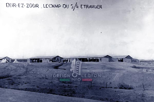 4e REI - 4 REI - Legion Etrangere - 1926 - Deir ez-Zor - Syrie - Levant