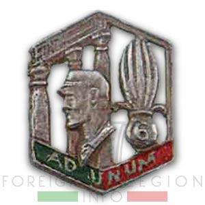 6e REI - 6 REI - Legion Etrangere - 1939 - Insigne - Levant