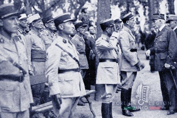 6e REI - 6 REI - Legion Etrangere - 1941 - France - Pétain