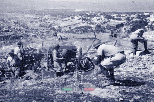 6e REI - 6 REI - Legion Etrangere - 1941 - GALL - Groupe d'Artillerie - Levant