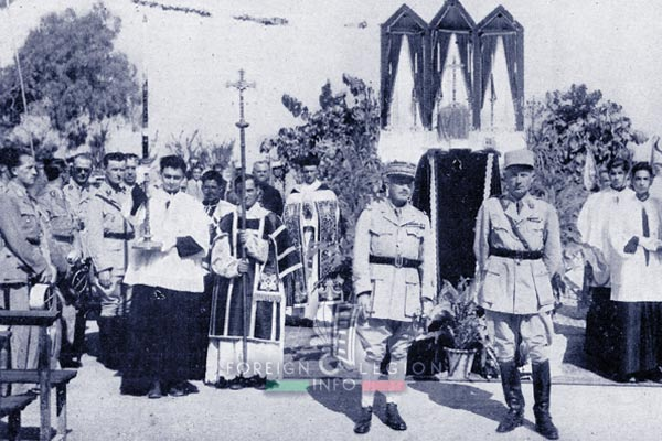 6e REI - 6 REI - Legion Etrangere - 1941 - Antoura - Collège Saint Joseph - Liban - Colonel Barre