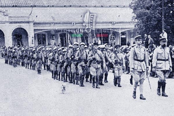 6e REI - 6 REI - Legion Etrangere - 1941 - France - Pau - Andolenko
