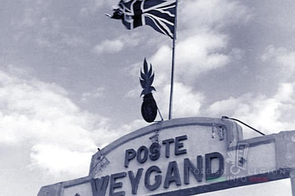 6e REI - 6 REI - Legion Etrangere - 1941 - Poste Weygand - Palmyre - Levant