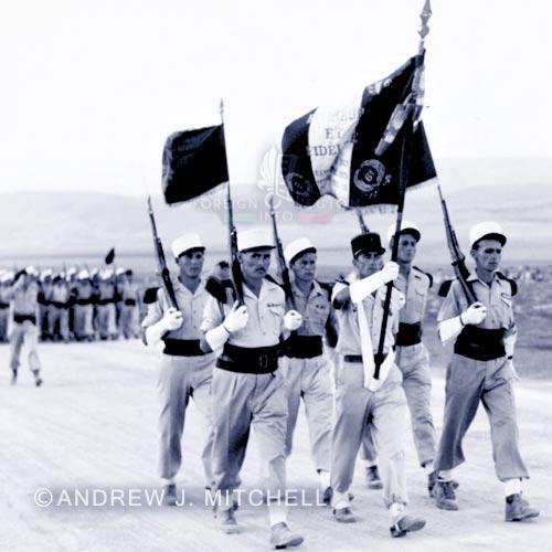6e REI - 6 REI - Legion Etrangere - 1949-1950 - Drapeau - Tunisie
