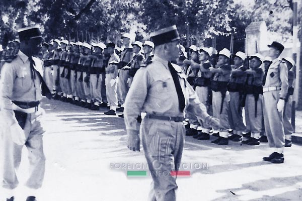6e REI - 6 REI - Legion Etrangere - 1949 - Thomas - Dares - Tunisie
