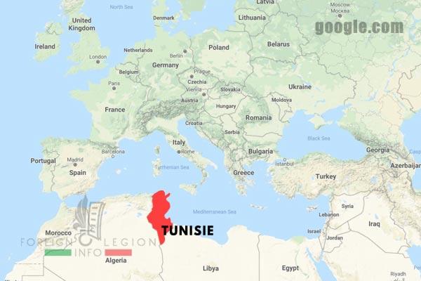 Tunisia - Map