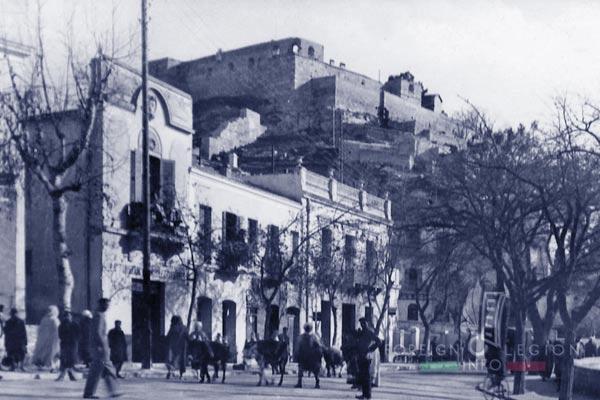 6e REI - 6 REI - Legion Etrangere - 1950 - Le Kef - Kasbah - Tunisie
