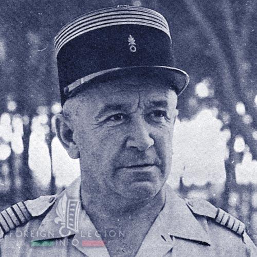 Legion Etrangere - 1954 - Lieutenant-colonel Jean Rossi