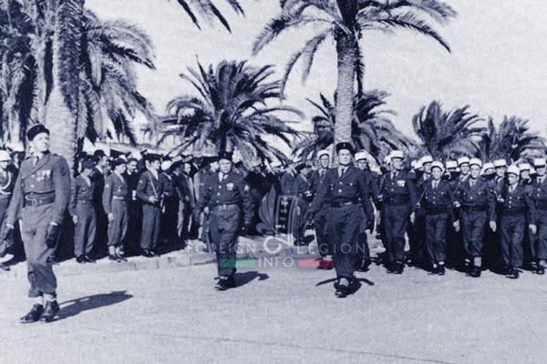 6e REI - 6 REI - Legion Etrangere - 1952 - Tunis - Tunisie