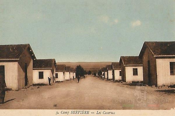 6e REI - 6 REI - Legion Etrangere - Camp Servière - Tunisie