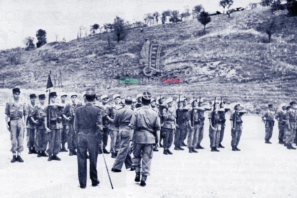 6e REI - 6 REI - Legion Etrangere - 1954 - Le Kef - Tunisie - Colonel Laimay