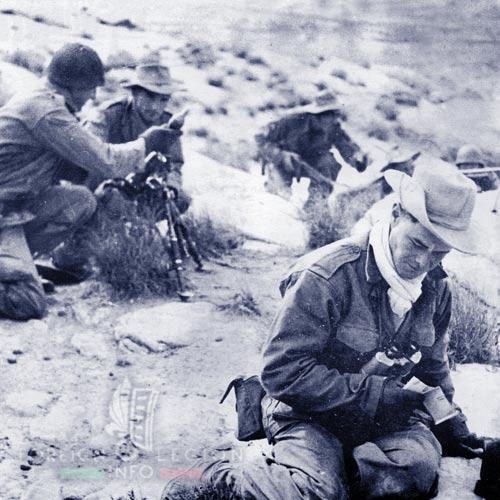 6e REI - 6 REI - Legion Etrangere - 1954 - Djebel Gouleb - mortier M2 - Tunisie