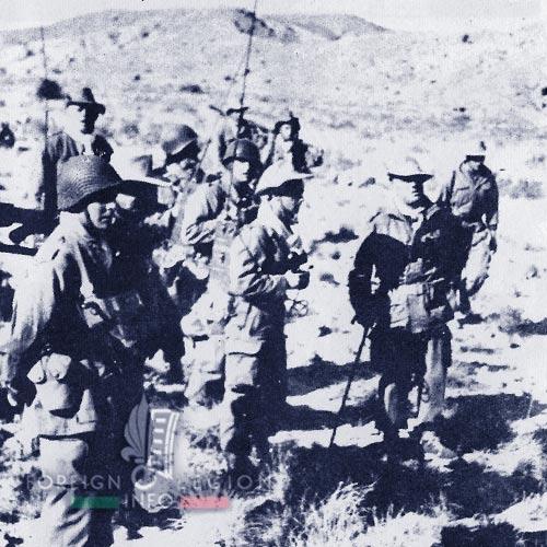 6e REI - 6 REI - Legion Etrangere - 1954 - Tunisie