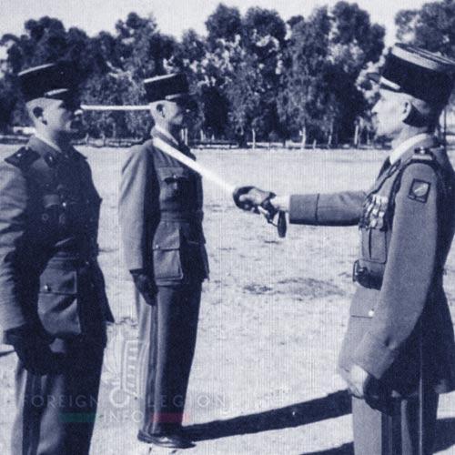 6e REI - 6 REI - Foreign Legion - Legion Etrangere - 1955 - Tunisia - Lieutenant Basset - Lieutenant Schmidt - Major Georgeon