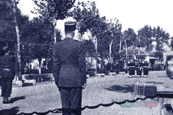 6e REI - 6 REI - Legion Etrangere - 1955 - Sidi Bel Abbes - Drapeau