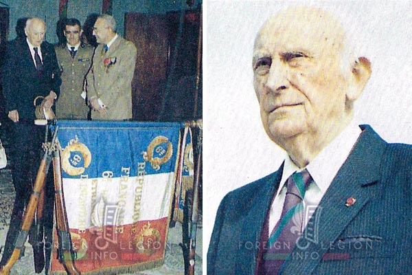 Fernard Barre - Legion Etrangere - 1989 - 6e Régiment Etranger - Laudun