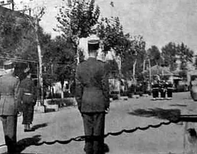 6e REI - 1/6rei - flag - drapeau - Sidi-bel-Abbes 1955