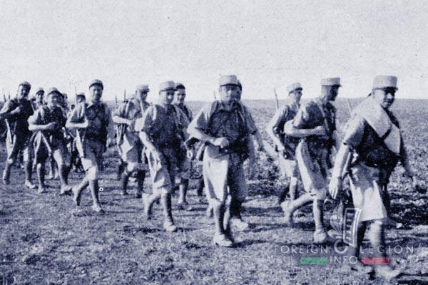 GLE - Legion Etrangere - 1938 - Legionnaires - Levant