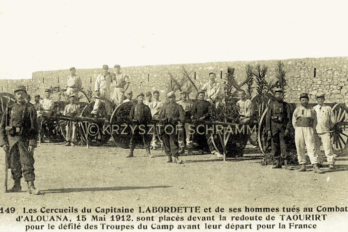 Morocco - Taourirt - coffins - 1911