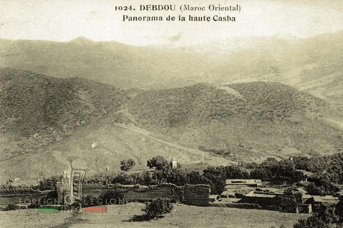 Morocco - Debdou - panorama