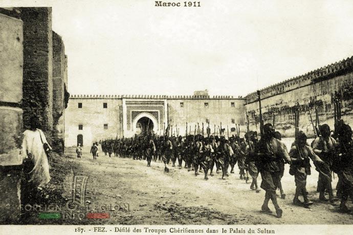 Morocco - Mehalla - Fez - Cherifian armed forces - 1911
