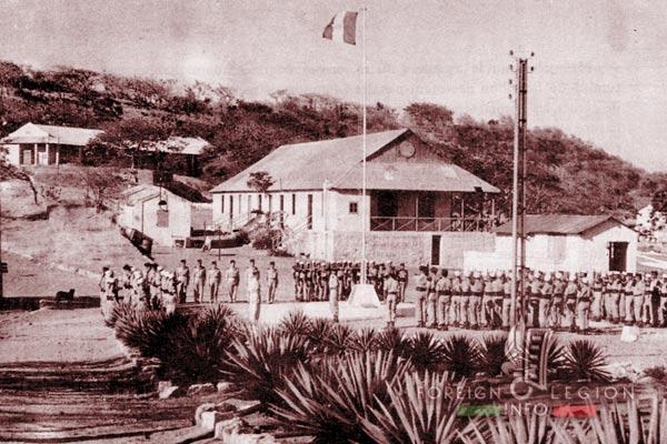 BLEM - Foreign Legion Madagascar Battalion - Foreign Legion Etrangere - 1958 - Madagascar - Cap Diego - CIOA