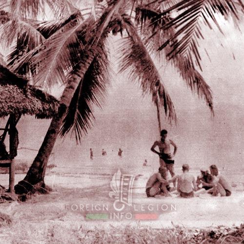BLEM - Foreign Legion Madagascar Battalion - Foreign Legion Etrangere - 1958 - Madagascar - Tropical eden