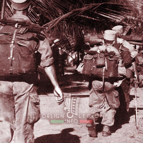 BLEM - Foreign Legion Madagascar Battalion - Foreign Legion Etrangere - 1958 - Madagascar - Bush Tour