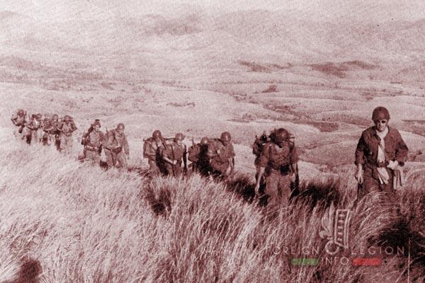 BLEM - Foreign Legion Madagascar Battalion - Foreign Legion Etrangere - 1958 - Madagascar - Maneuver