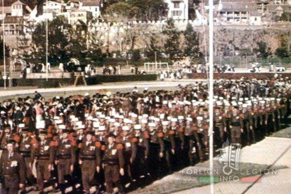 BLEM - Foreign Legion Madagascar Battalion - Foreign Legion Etrangere - 1958 - Madagascar - Tananarive